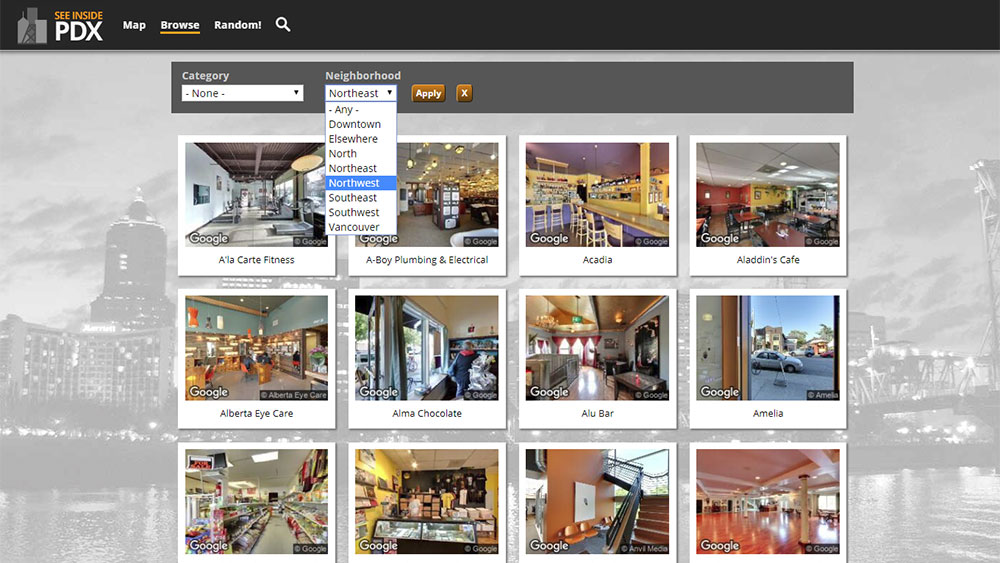 See Inside PDX - Browse by Category
